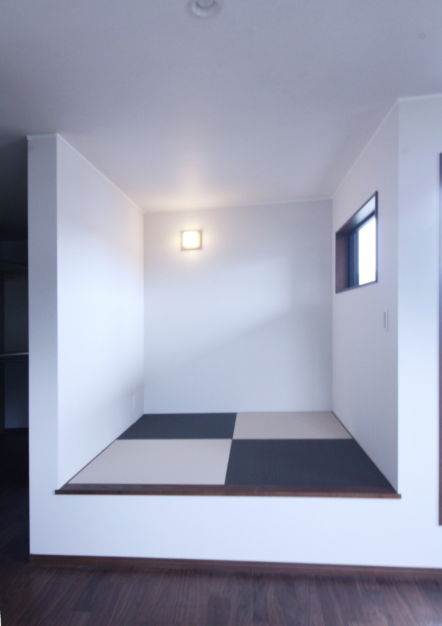 寝室の畳コーナー