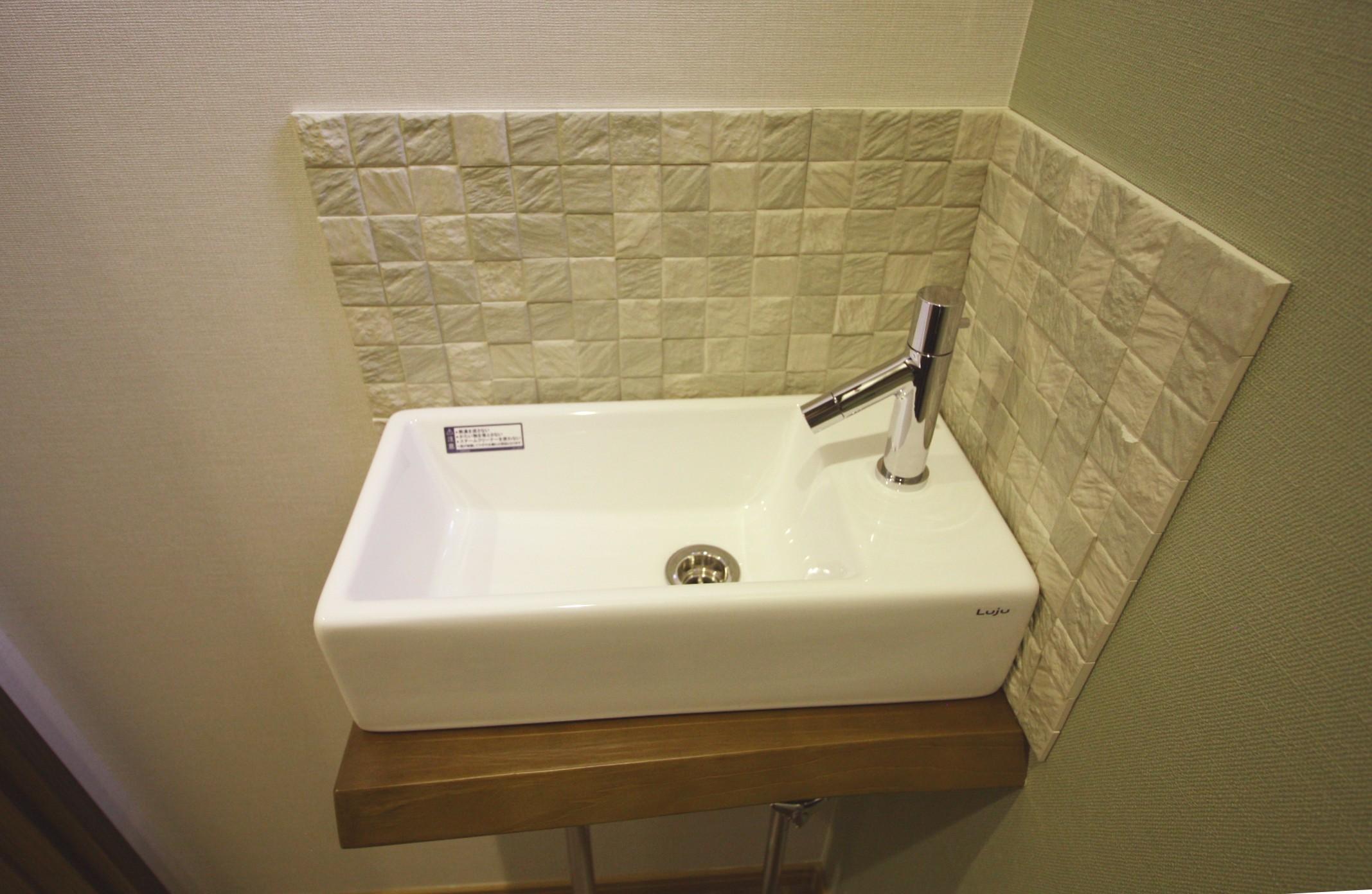 トイレの手洗器